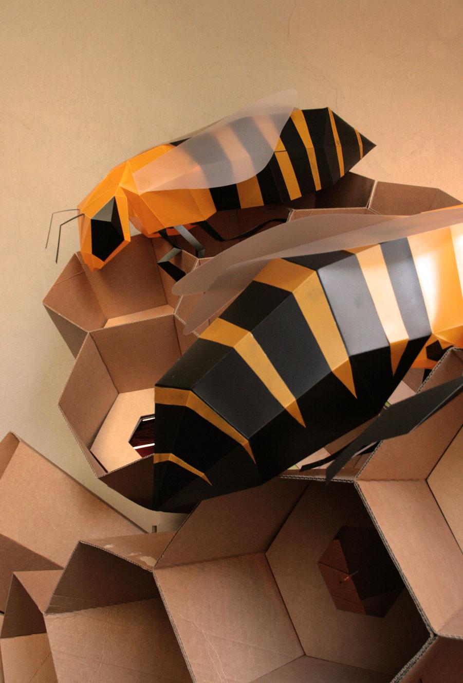 bee abelles abejas